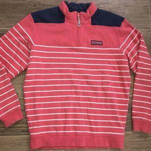 Men's VINEYARD VINES Striped Shep Shirt M Pullover